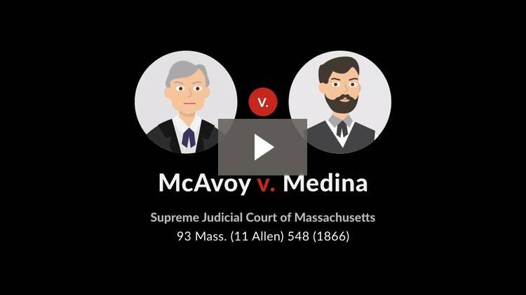 McAvoy v. Medina