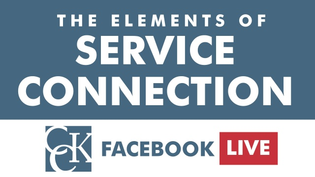The Elements of Service Connection
