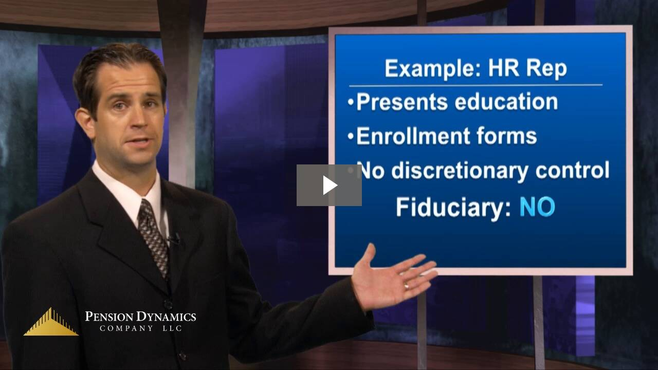 Who is a Fiduciary