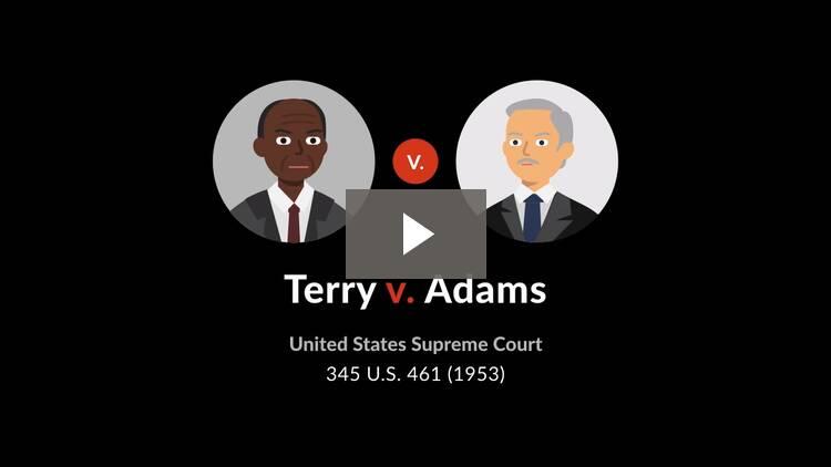 Terry v. Adams