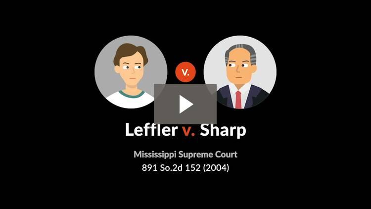 Leffler v. Sharp