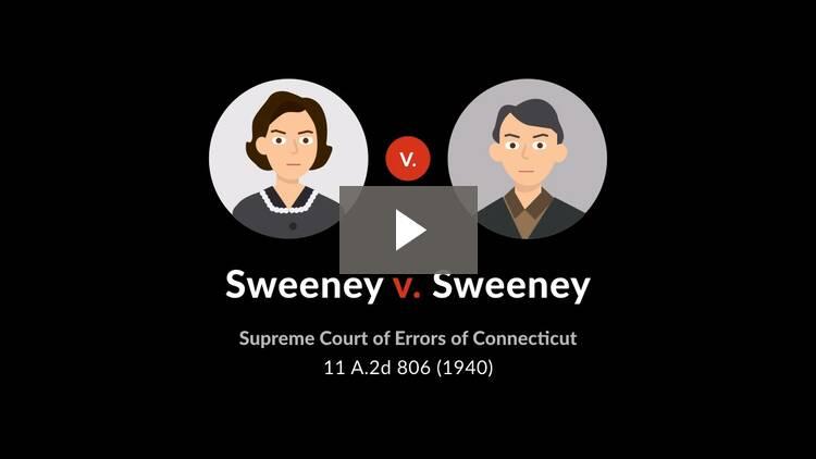 Sweeney v. Sweeney
