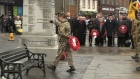 Remembrance Sunday ceremony in Annan