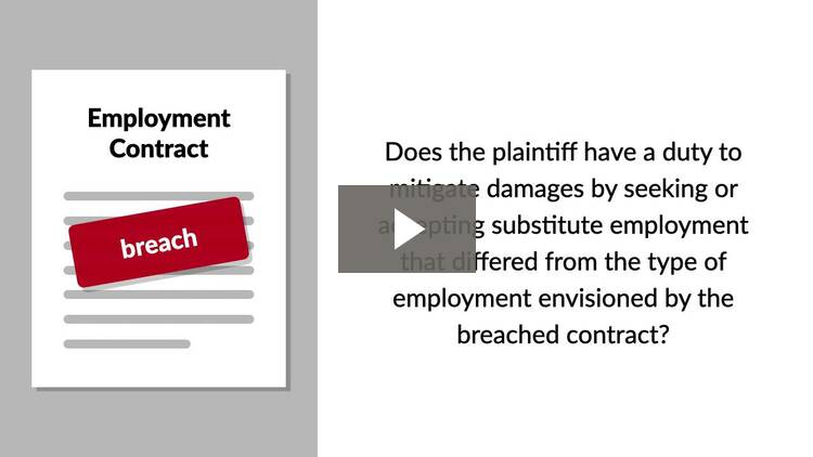 Incidental Damages, Duty to Mitigate, the Collateral Source Rule