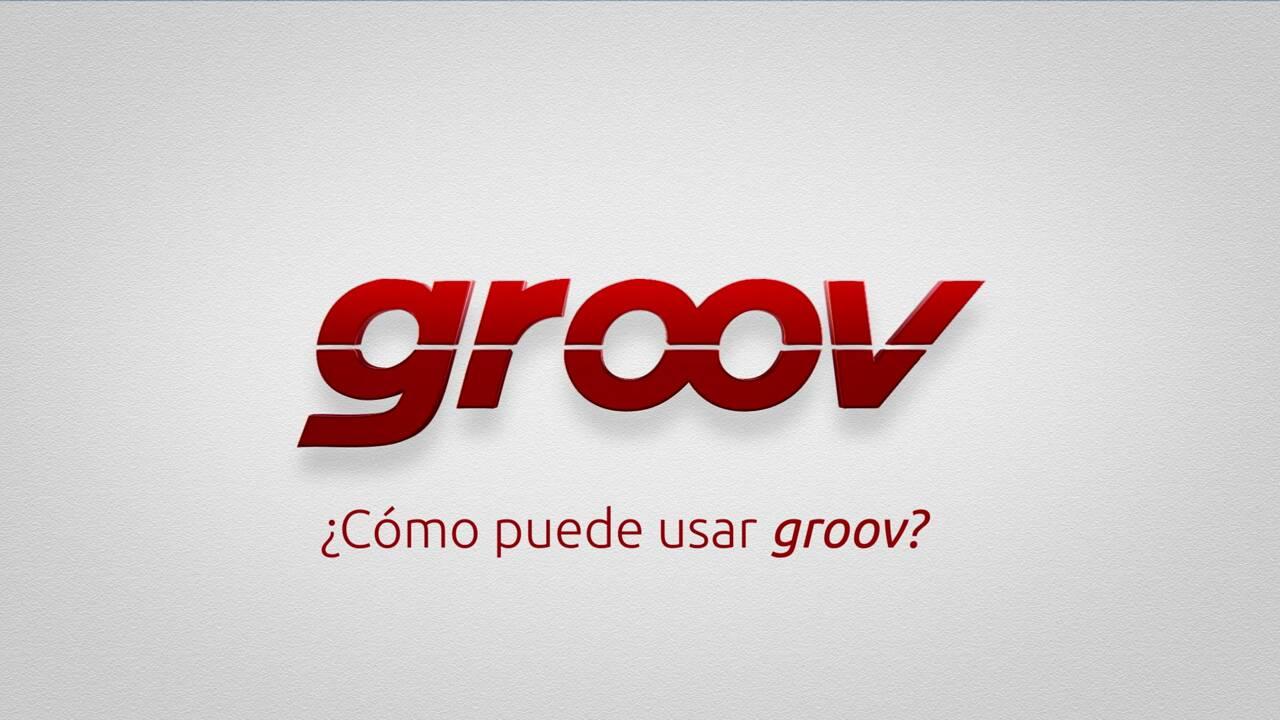 ¿Cómo puede usar groov?
