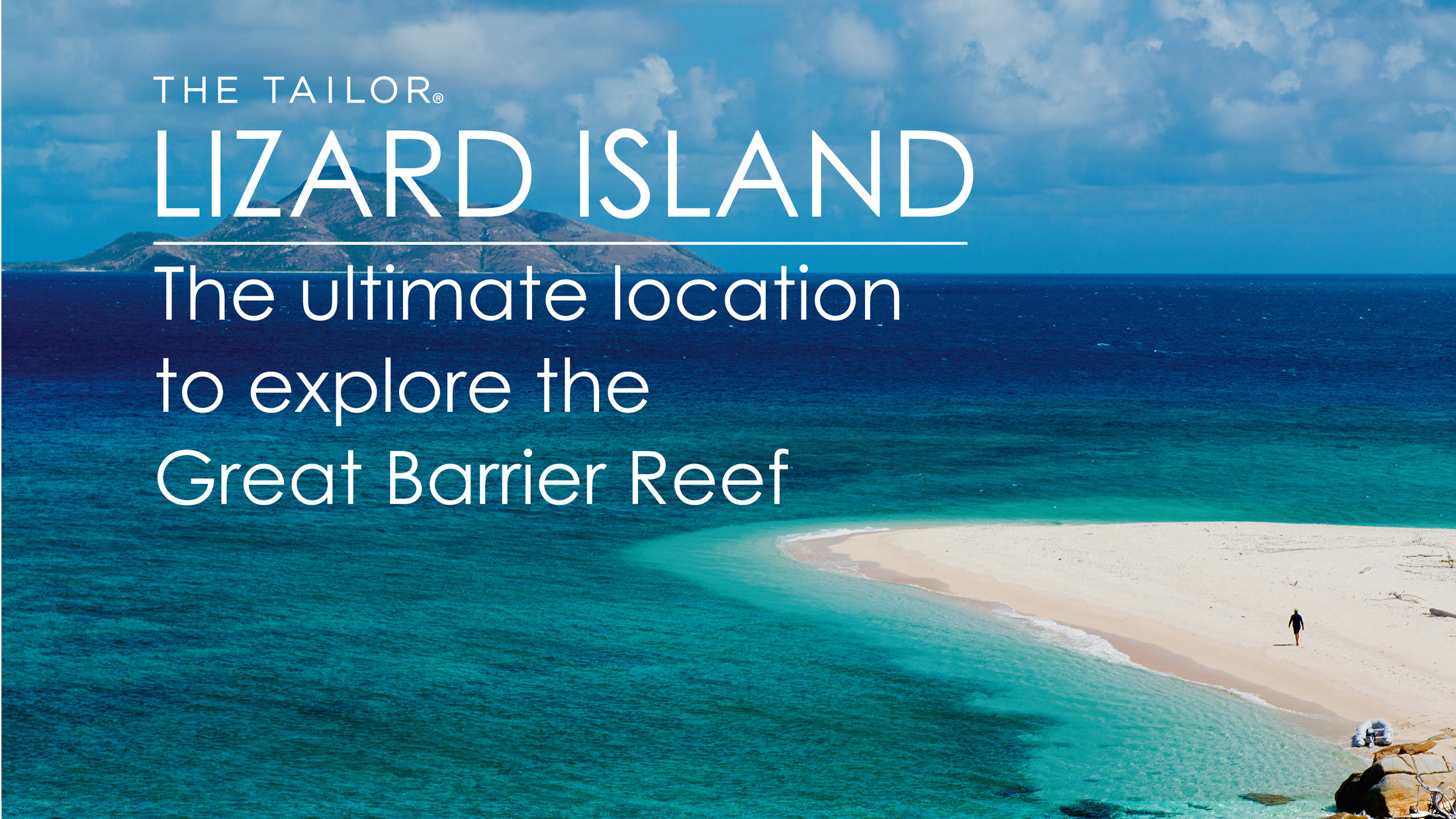 Thumbnail for the listing 'Lizard Island the ultimate location to explore the Great Barrier Reef'