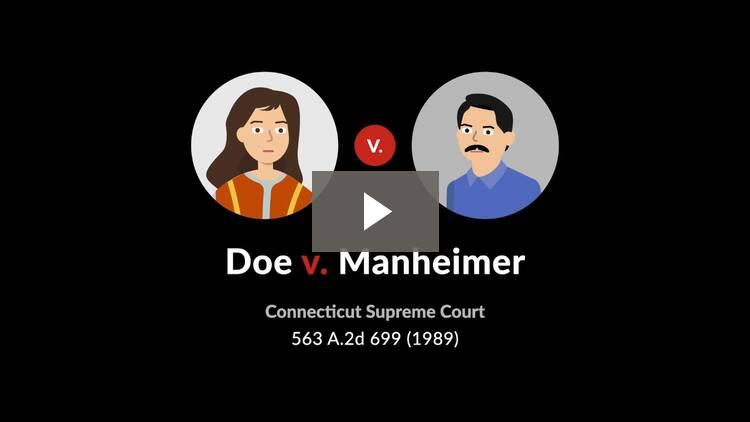 Doe v. Manheimer