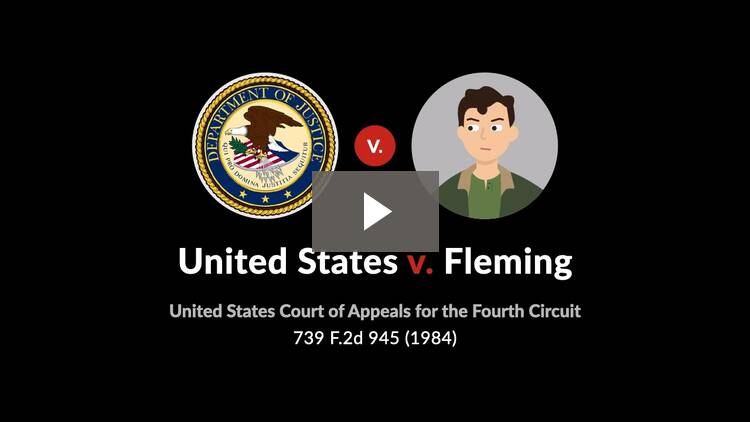 United States v. Fleming