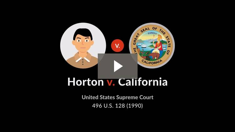 Horton v. California