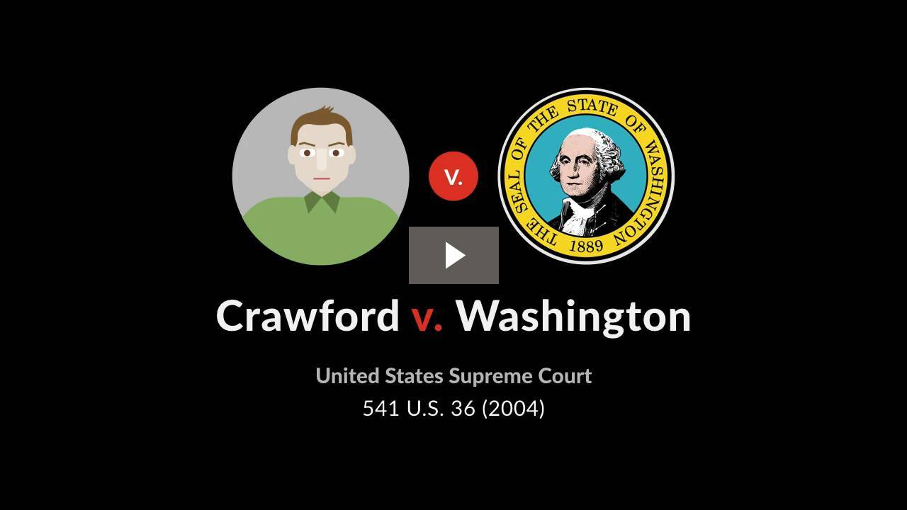 Crawford v. Washington