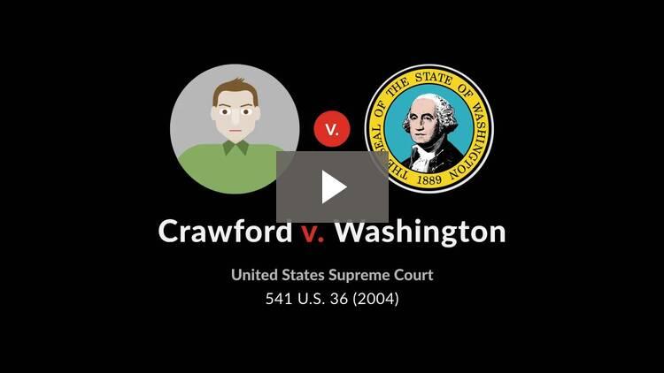 Crawford v. Washington