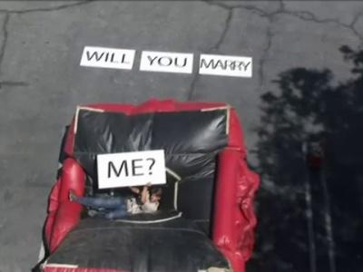 La proposta di matrimonio più pazza del mondo