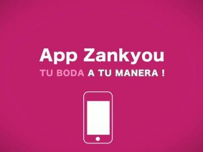Aplicación de Zankyou para iPhone y android.