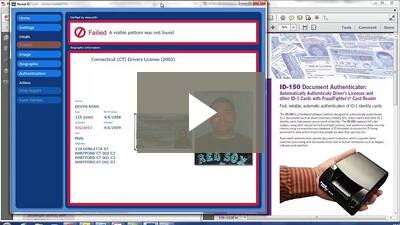 ID verifier document reader demo