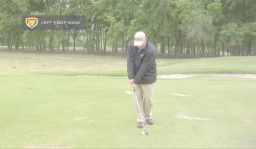 Practice: Stop Over the Top Swing with Left Foot Back Drill