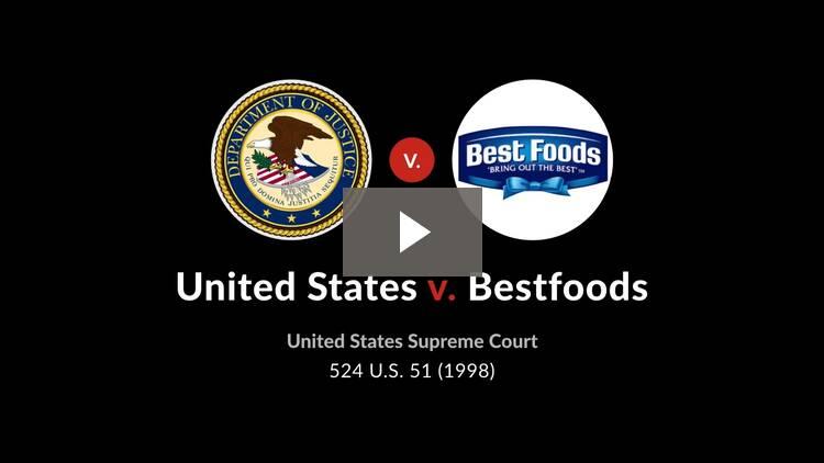 United States v. Bestfoods