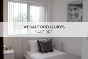 X1 Salford Quays Phase 2 Property Tour