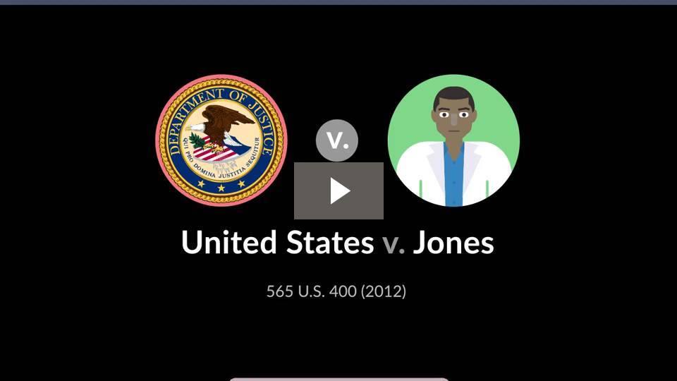 United States v. Jones