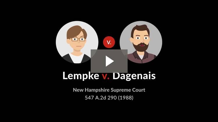Lempke v. Dagenais