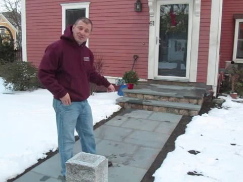 Installing Snow Melting Cable System Outdoor Radiant