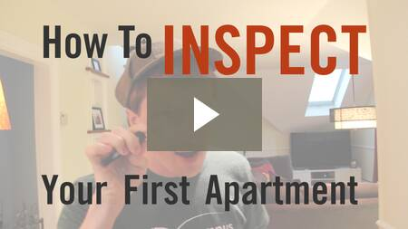 How To Inspect Your First Apartment
