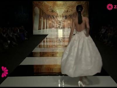 Défilé de robes de mariée 2014 avec décolleté dans le dos