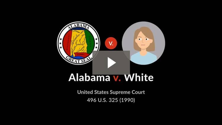 Alabama v. White