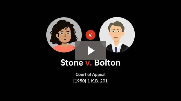 Stone v. Bolton