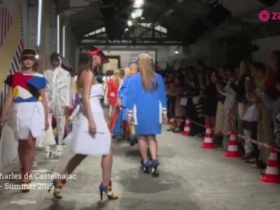 Défilé Jean-Charles de Castelbajac Printemps Eté 2015 : Fashion Week de Paris