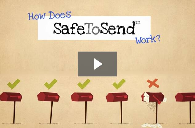 SafeToSend Email Validation Video