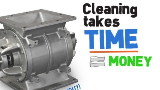 Make cleaning suck less with our Quick-Clean valve on RotorRails™