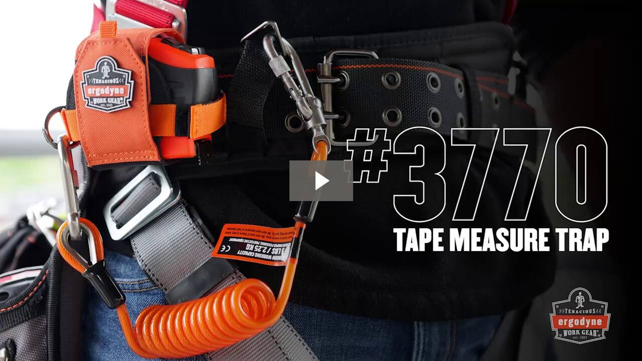 Ergodyne Product Video - Squids<sup>®</sup> 3770 Tape Measure Trap