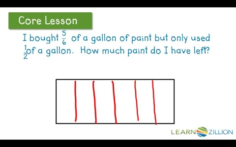 Lesson 11: Add and Subtract fractions in word problems - Ready ...