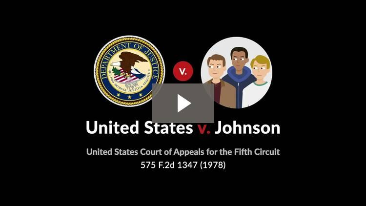United States v. Johnson