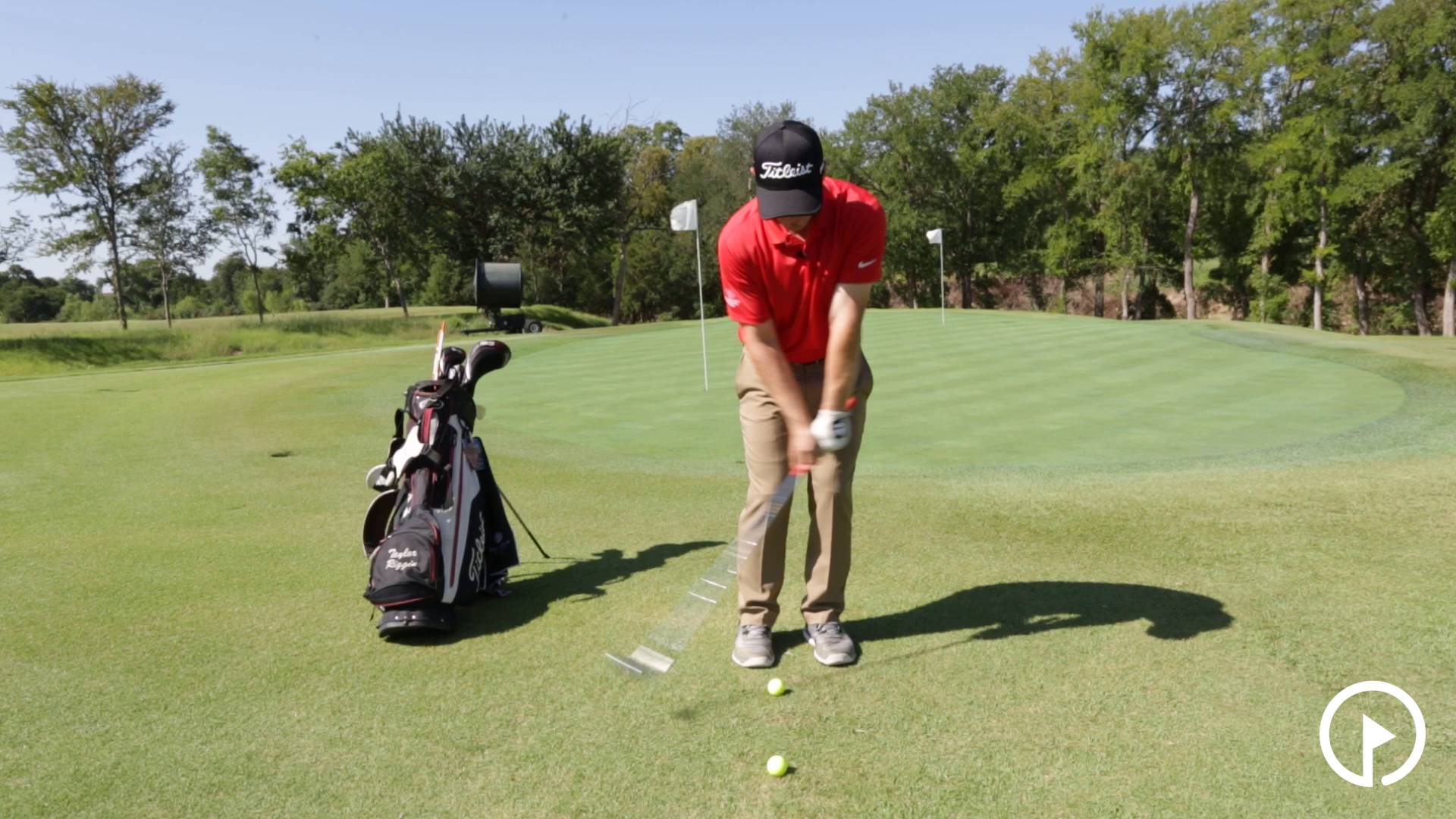 Practice Drills: 2 Ball Drill to Work on Downward Strike
