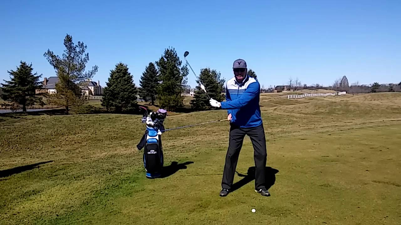 How to Use the Right Side in Your Golf Swing