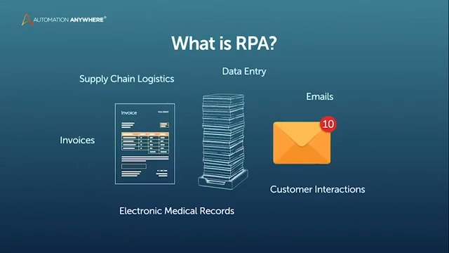 What is RPA? Transform the way you work  Get a bot!
