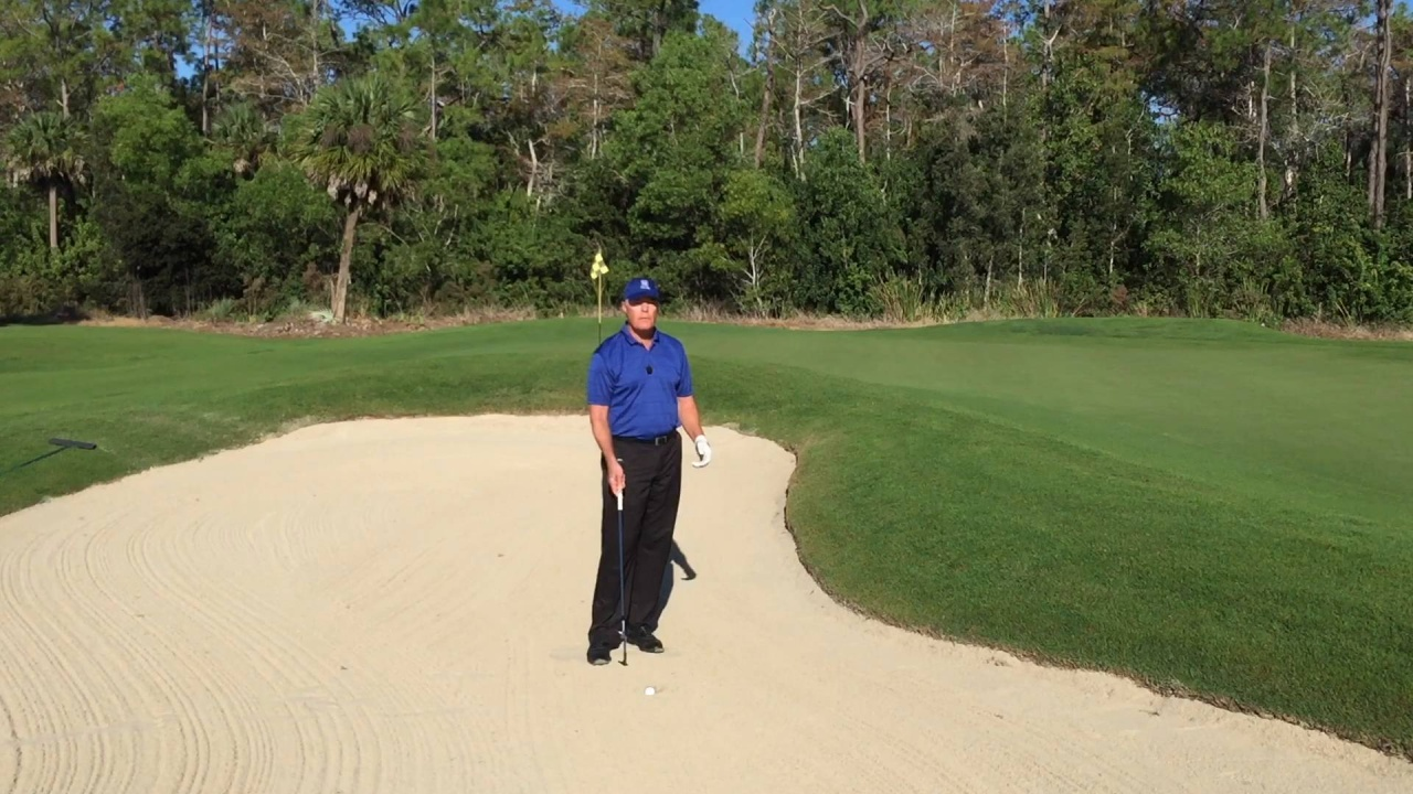 How to Play from a Buried Lie in a Bunker