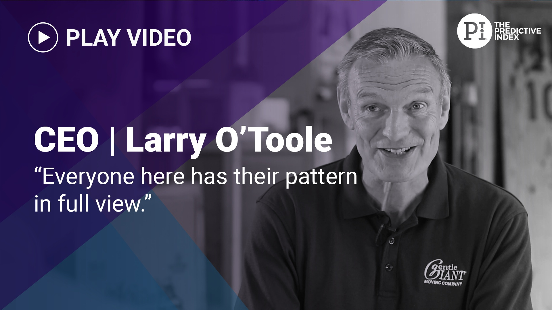 Larry O'Toole on self awareness from PI