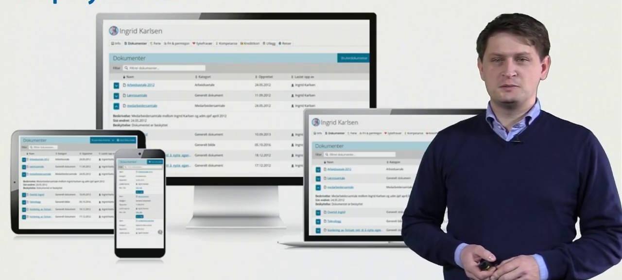 Gratis webinar: Slik hjelper HRM-systemet deg med GDPR-arbeidet