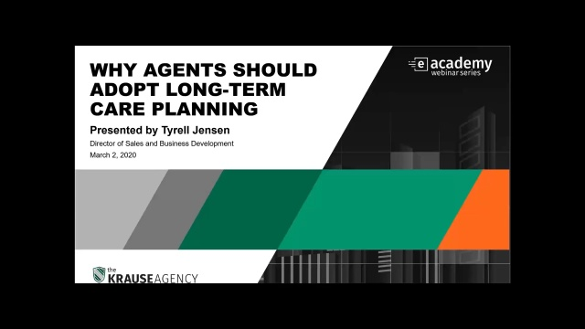 Why Agents Should Adopt Long-Term Care Planning