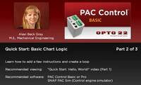 PAC Control QuickStart 2: Basic Logic (Part 2 of 3, ~7 min)