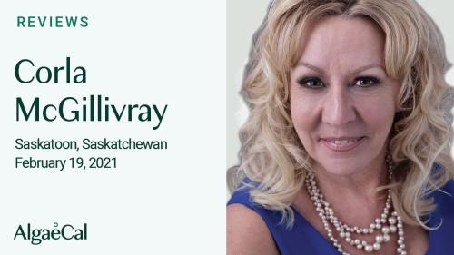 Testimonial thumbnail portrait of Corla McGillivray