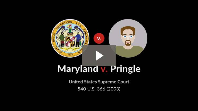 Maryland v. Pringle