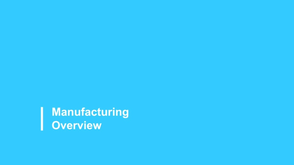 Manufacturing Industry Overview 2021
