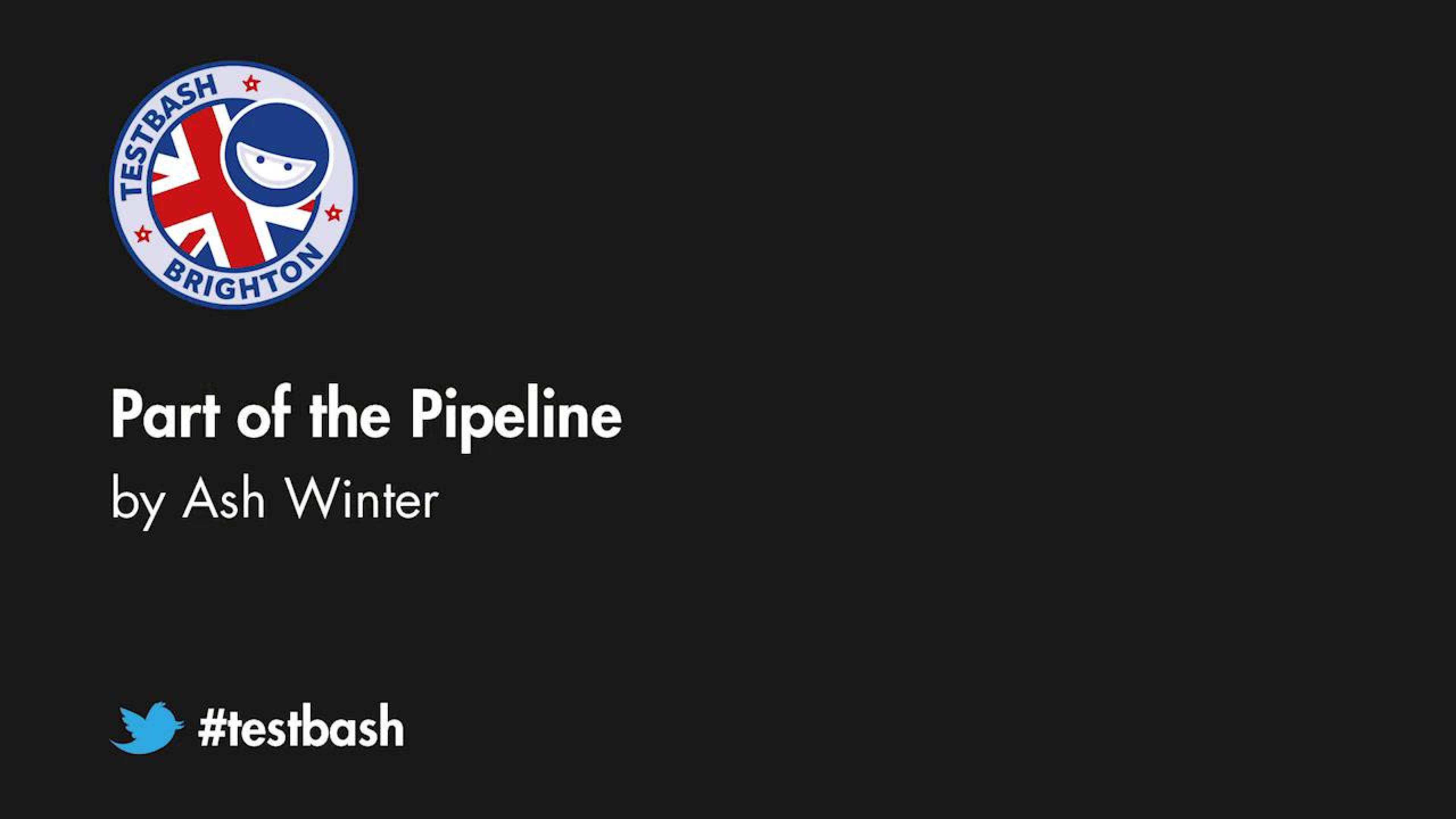 Part Of The Pipeline - Ash Winter