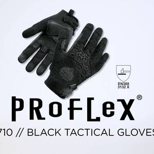 Ergodyne Product Video - ProFlex<sup>®</sup> 710BLK Abrasion-Resistant Black Tactical Gloves