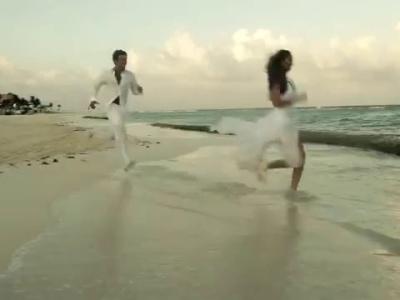 Una boda de la vida real en Xcaret , Riviera Maya
