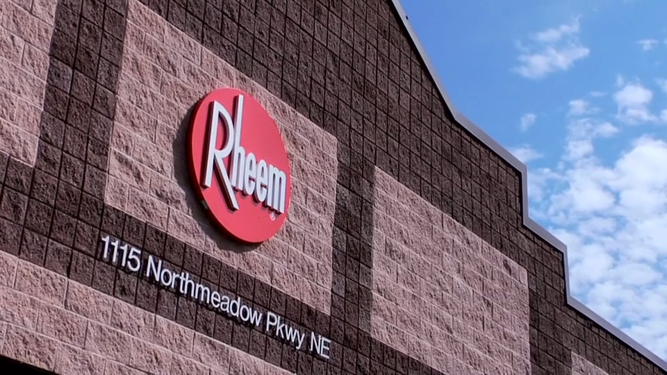 Rheem and ETQ New Logo