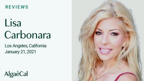 Testimonial thumbnail portrait of Lisa Carbonara